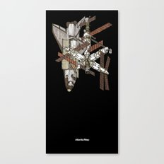 Atlantis/Mir Canvas Print