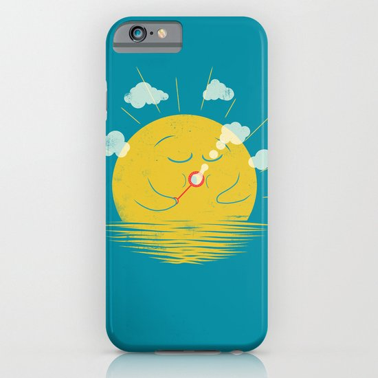 Partly Cloudy iPhone & iPod Case