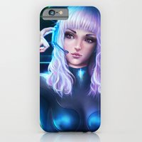 iPhone & iPod Case featuring Sci-fi Mango by Sanjin Halimic
