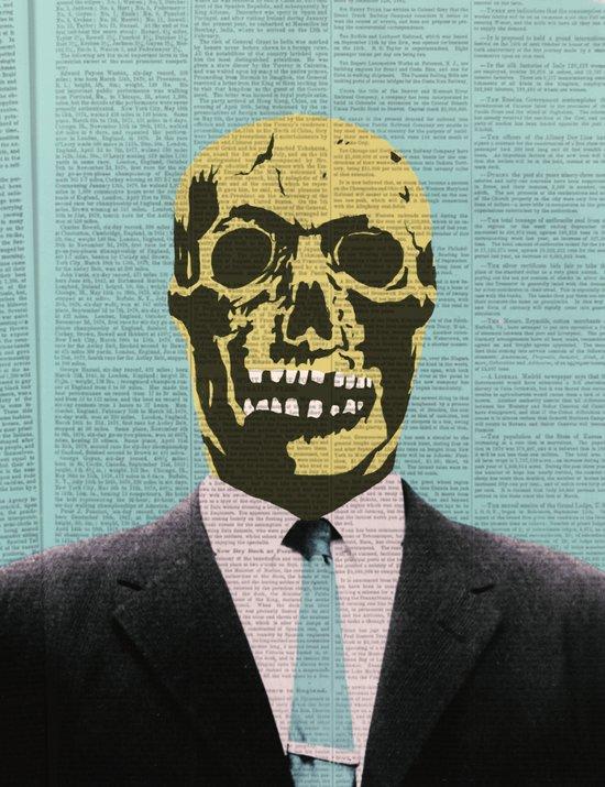 Working Man Canvas Print