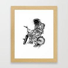 Void in Space (Blk) Framed Art Print