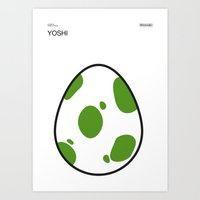 Poster Nintendo Yoshi Art Print