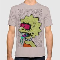 LISA GRIMMSON. (THE GRIM… Mens Fitted Tee Cinder SMALL