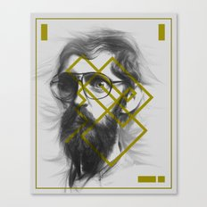 Man From Earth Canvas Print