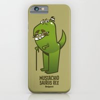 Mustachio Saurus Rex iPhone 6 Slim Case