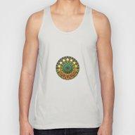 Sun Mandala 2 Unisex Tank Top