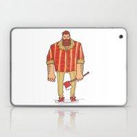 The Woodchop Laptop & iPad Skin