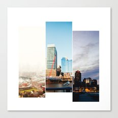 A day in Boston Canvas Print