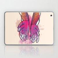 Dirty Hands Laptop & iPad Skin