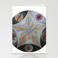 Galactic Pentagram (ANALOG zine) Stationery Cards