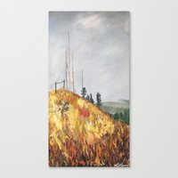 Radio Hill Canvas Print