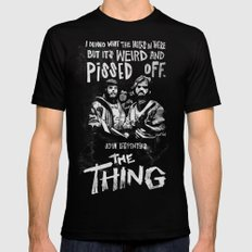 John Carpenter's The THING Mens Fitted Tee Black SMALL