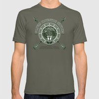 Goa'uld Protection Services Mens Fitted Tee Lieutenant SMALL