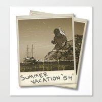 Summer of '54 Canvas Print