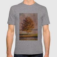 A Sunny Autumn Day Mens Fitted Tee Athletic Grey SMALL