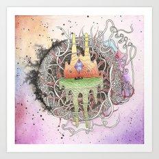 Master of Dimensions Art Print