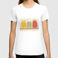 Canning Womens Fitted Tee White SMALL