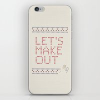 Let's Make Out iPhone & iPod Skin
