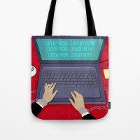 LOVE WORK Tote Bag