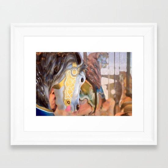 Carousel life... Framed Art Print