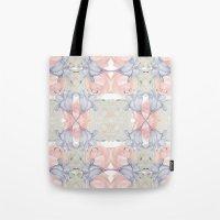 Wildflower symmetry Tote Bag