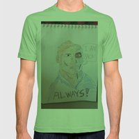 Bootleg Series: Cyborg Future Guy Mens Fitted Tee Grass SMALL