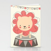 Leo the Lion  Stationery Cards