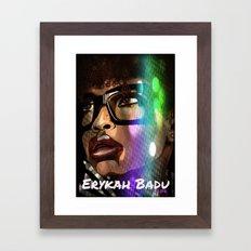 I Go On And On Framed Art Print