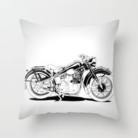 1937 Out Throw Pillow