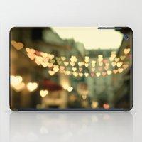Looking for Love - Paris Hearts iPad Case