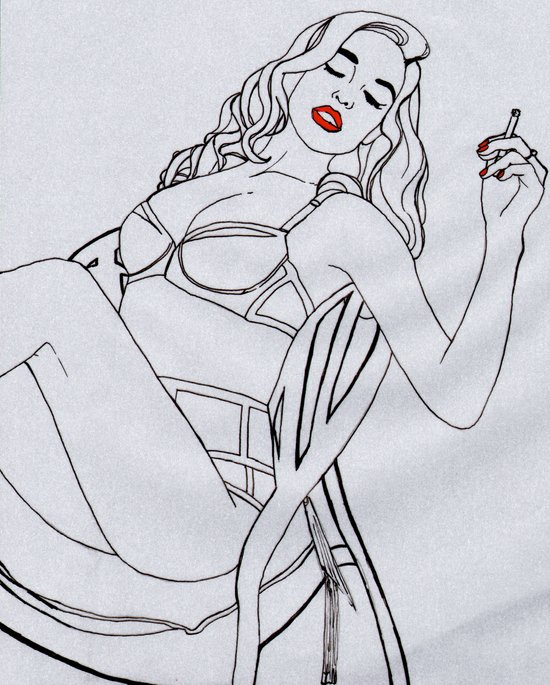 pin up Art Print