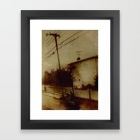 Wanted Man Framed Art Print