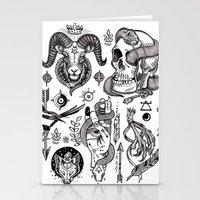 Lesser Alchemy Stationery Cards