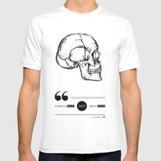 Dead or alive White Mens Fitted Tee SMALL