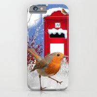 Winter Robin IPhone Case… iPhone 6 Slim Case