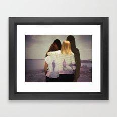 Together & Alone Framed Art Print