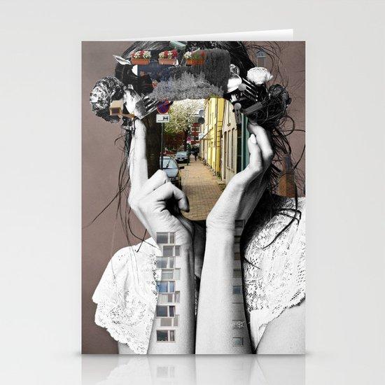 Crazy Woman - Lara Lisa Bella Stationery Card