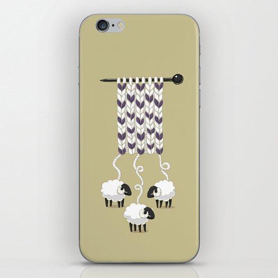 Wool Scarf iPhone & iPod Skin