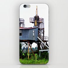 Old sugar plant cranes iPhone & iPod Skin