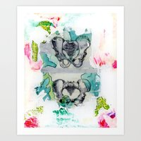his and hers Art Print