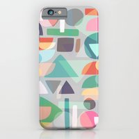 iPhone & iPod Case featuring Pastel Geometry 2 by Mareike Böhmer Graphics
