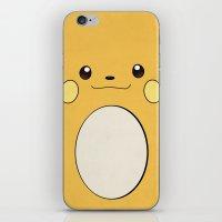 Raichu - Pikachu's Evolu… iPhone & iPod Skin