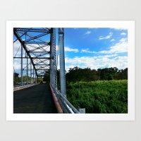 Old Añasco Bridge Art Print