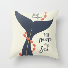 The Old Man And The Sea … Throw Pillow