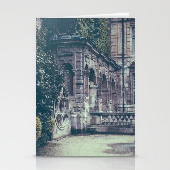 French Garden   Stationery Card