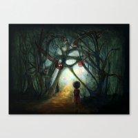 Through The Dream Canvas Print