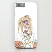 Girl On A Wall iPhone 6 Slim Case