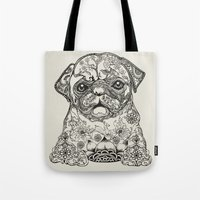 Persian Pug Tote Bag