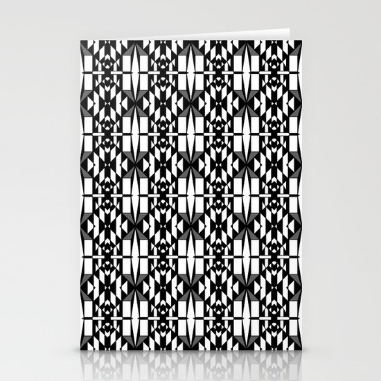 Black and White 2 Stationery Card