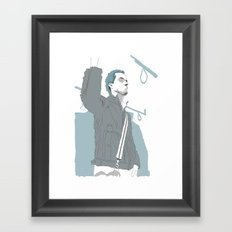 Oh Shit.... Framed Art Print